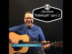 """""""Hallelujah"""" finger style part 2 (Lesson from Relax and Learn Guitar)"""