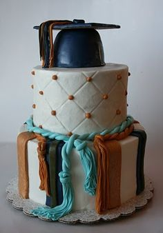 And Everything Sweet: Brittney's Graduation Cake