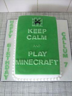 Minecraft — Birthday Cakes
