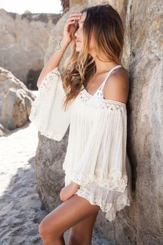 Jen's Pirate Booty Wild Flower tunic in natural...just ordered mine yayyy :)