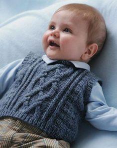 En �irin �rg� erkek bebek yelek ve kazak modelleri