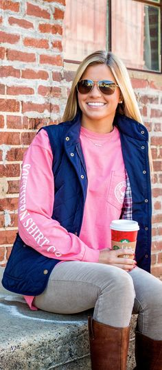 Stay stylish and warm in this Southern Shirt Seaside Logo Tee! #DearSouthernShirt #SouthernShirt