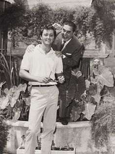 Christopher Mitchum and Guglielmo Battistoni