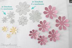 Stampin' Up! Anleitung Tutorial Sukkulenten Blume anfertigen - Stampin'Up! mit stempelmami