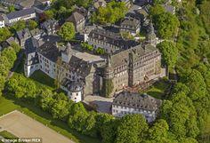 The family seat of the Sayn-Wittgenstein-Berleburgs - Schloss Berleburg Castle in North Rh...