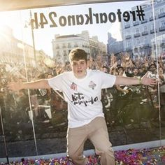 Arkano breaks rap world record in Madrid