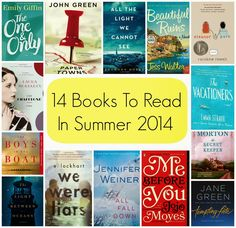 The Chirping Moms: 14 Books to Read in Summer 2014