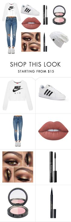 """Random"" by mc-crusher on Polyvore featuring NIKE, adidas, Levi's, Lime Crime and Stila"