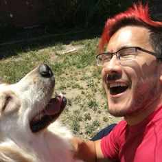 Mark and chica.