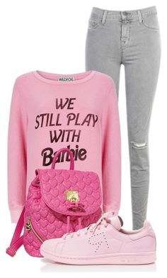 """Untitled #180"" by beautifully-ambitious on Polyvore featuring J Brand, Wildfox, Betsey Johnson and adidas"
