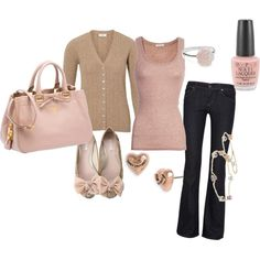 Elegantly Casual, created by alanad23 on Polyvore