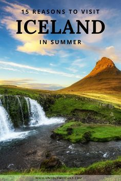 Iceland travel inspiration and ideas - Things to do on your summer trip to Iceland: where to go, what to see and do... puffins, whale watching, volcanos, geysers, beautiful places to see on an Iceland road trip #Iceland #bucketlist #travel via @untoldmorsels