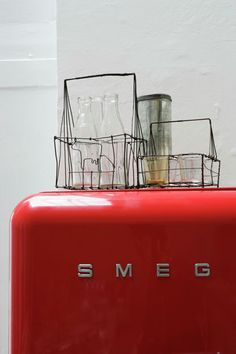 Mixing old and new - and a red smeg to just make it awesome!