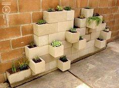 Hollow Blocks Garden