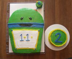 Umi Zoomi Bot Cake