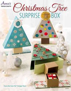 From the creators of Scor-Pal(R) scoring boards, Christmas Tree Surprise Boxes…