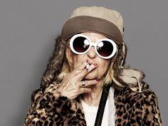 Le fashion cool du jour : ta grand-mère en Kurt Cobain