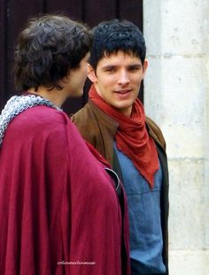 Merlin and Mordred...