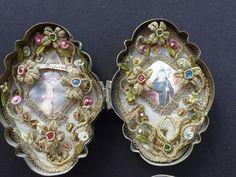Originale Klosterarbeit 18./19. Jahrhundert,Walburga. | eBay