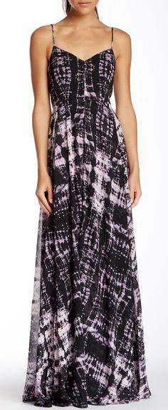 Hollow Maxi Dress