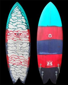 DT, surfboard shaped by Larry Larmo Mabile.