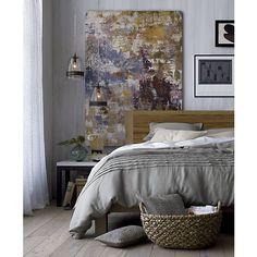 Pietra Bed Linens I Crate and Barrel