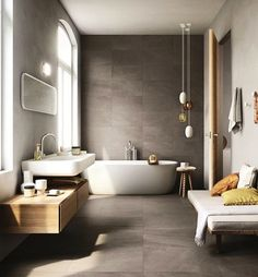 Bathroom Inspiration: The Do's and Don'ts of Modern Bathroom Design 17 - Modern Interior Modern Bathroom Design, Bathroom Interior Design, Modern Interior Design, Bathroom Designs, Design Interiors, Bathroom Layout, Contemporary Interior, Contemporary Bathrooms, Kitchen Design