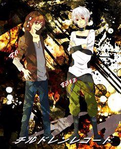 Utaite (歌い手) - Amatsuki & Mafumafu dressed as Shuuya Kano & Konoha from Kagerou Project