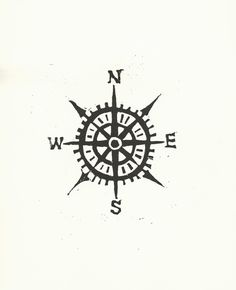 simple compass tattoos - Google Search