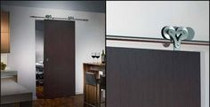 Sliding doors are super easy to install, even if you're not a professional or have a lot of experience installing doors.
