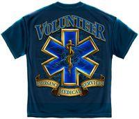 VOLUTEER EMS GOLD SHIELD  #tshirts #ems
