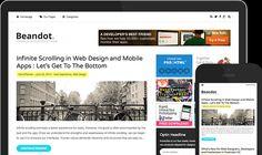 Beandot – Clean Simple Responsive WordPress Blog Theme
