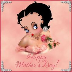 image by - Photobucket Betty Boop Happy Birthday To You, Imagenes Betty Boop, Black Betty Boop, Betty White, Animated Cartoon Characters, Cartoon Art, Betty Boop Cartoon, Betty Boop Pictures, Famous Cartoons