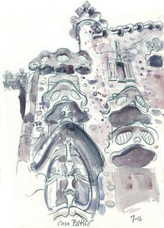 The city of Gaudí