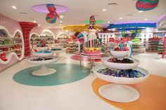Candylawa candy store by Red Design Group, Riyadh   Saudi Arabia ice cream store design