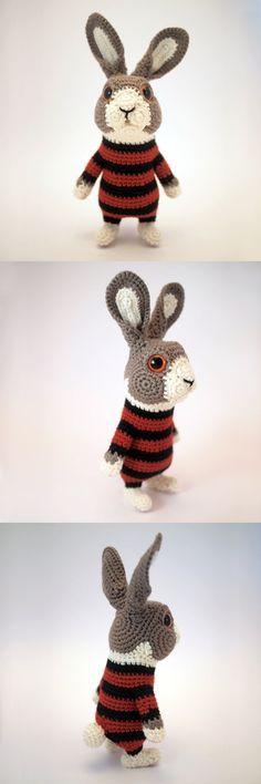 sawagurumi crocheted bunny