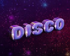 How to Create a Fabulous Mirror-Ball-Inspired Text Effect in Adobe Photoshop…