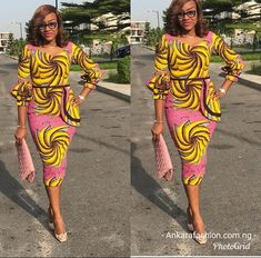 The ideal source for your afro chic life style and fashion site African Dresses For Women, African Print Dresses, African Attire, African Wear, African Women, African Prints, African Clothes, African Fashion Ankara, Ghanaian Fashion