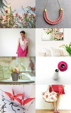 Sweet pink by Imogen Wilson on Etsy-- https://www.etsy.com/shop/findimogenwilson