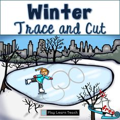 Trace and cut practice for preschoolers and kindergarteners - FREE