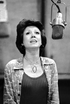 Donna McKechnie in a recording session for A Chorus Line – Original Broadway Cast 1975 | The Official Masterworks Broadway Site