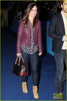 Pippa attends the ATP World Tour Finals - London Credit: PacificCoastNewsOnline
