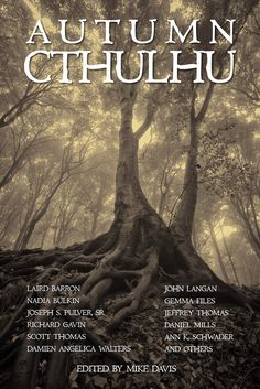 """The """"Autumn Cthulhu"""" book cover!"""