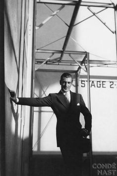 Gary Cooper in the Studio by Cecil Beaton