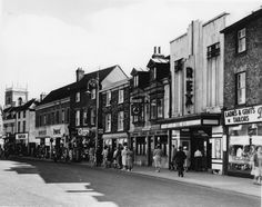 The Rex, High Wycombe High Wycombe, 1970s Childhood, The Blitz, History Online, Aqa, Family History, Architecture Art, Scenery, Street View