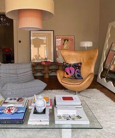 Dream Home Design, Home Interior Design, House Design, Living Room Interior, Interior Livingroom, Dream Apartment, Retro Apartment, Apartment Interior, Apartment Design