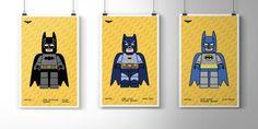 Adam West Lego Batman Print Lego Art Superhero Wall Art