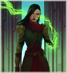 The Inquisitor...still looking badass after all she's been through. SHE WILL PERSEVERE!
