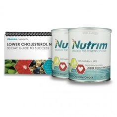 Nutrim Success Kit with Lower Cholesterol Naturally Guide