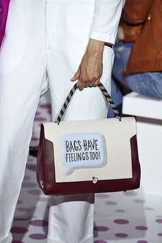 ANYA HINDMARCH SPRING 2015 READY-TO-WEAR